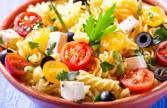 Salade de pâtes aux tomates cerises