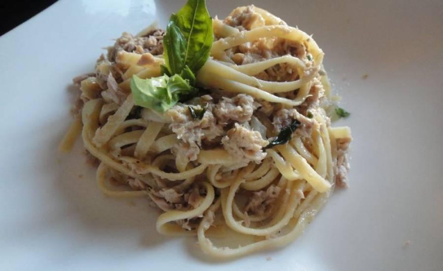TounsiaNet : Spaghettis au thon et à la crème