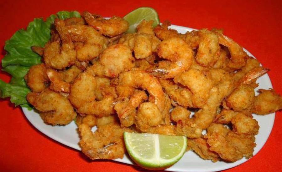 TounsiaNet : Crevettes panées