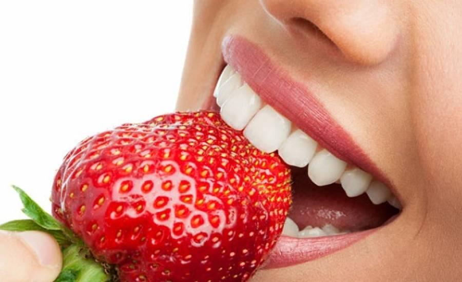 TounsiaNet : Les aliments pour blanchir vos dents