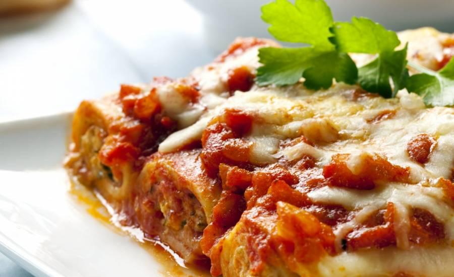 TounsiaNet : Cannelloni à la bolognaise traditionnels
