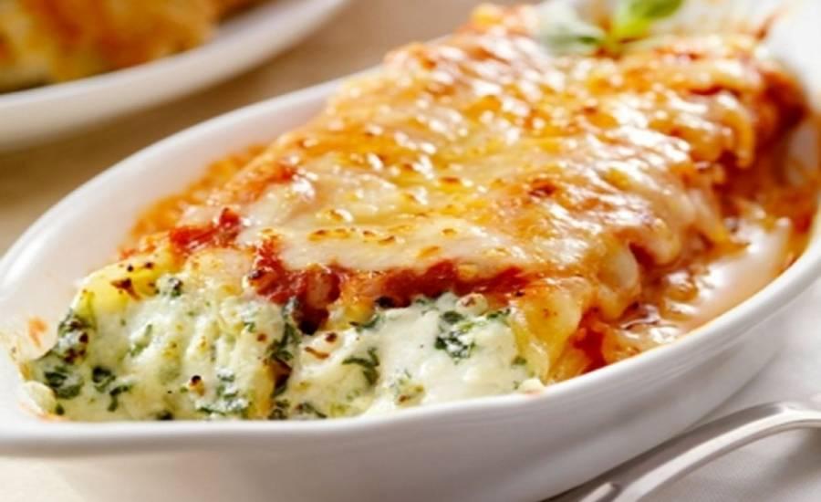 TounsiaNet : cannelloni aux épinards et ricotte