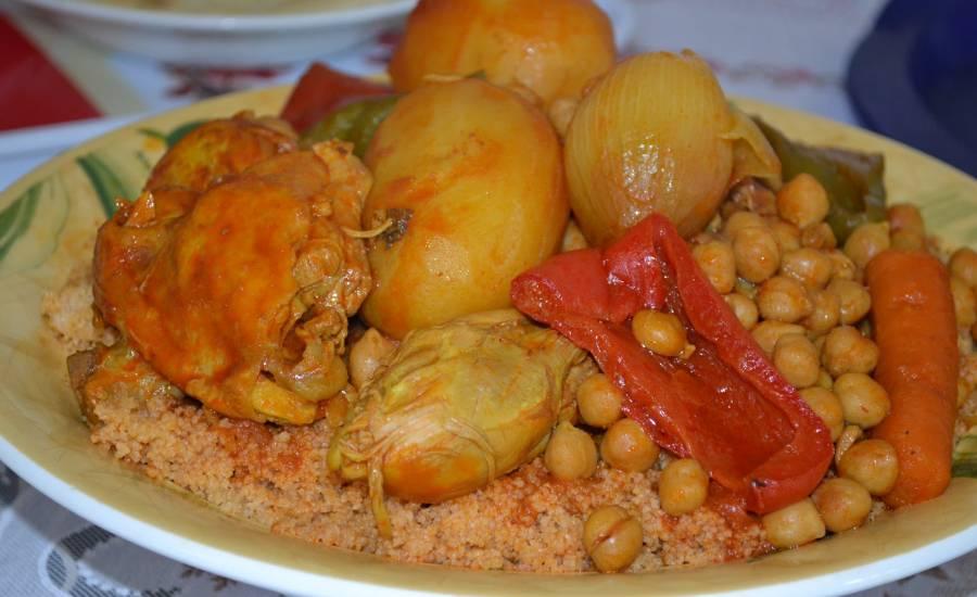 TounsiaNet : couscous au poulet