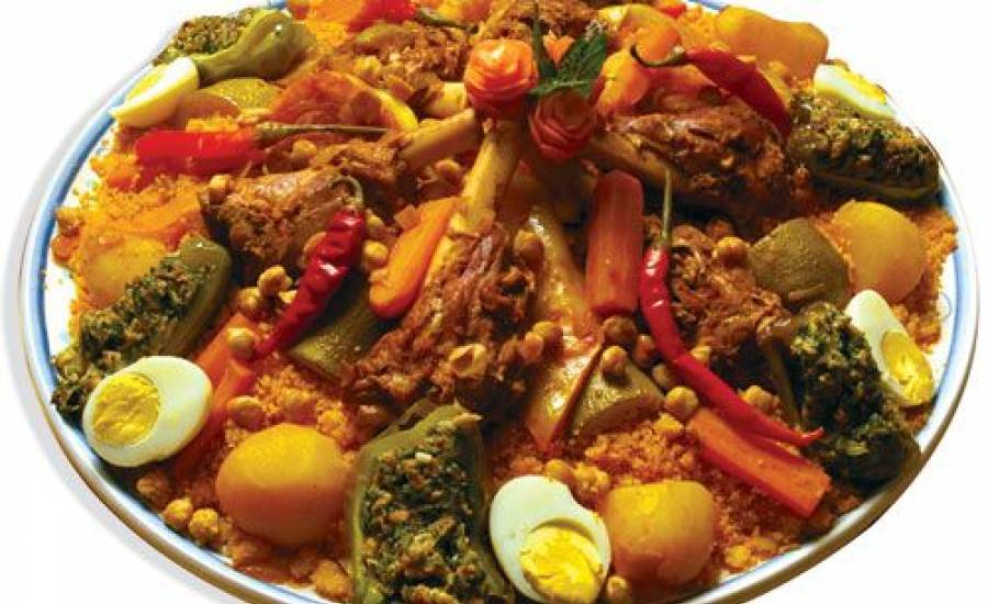TounsiaNet : couscous traditionnel à la viande de veau