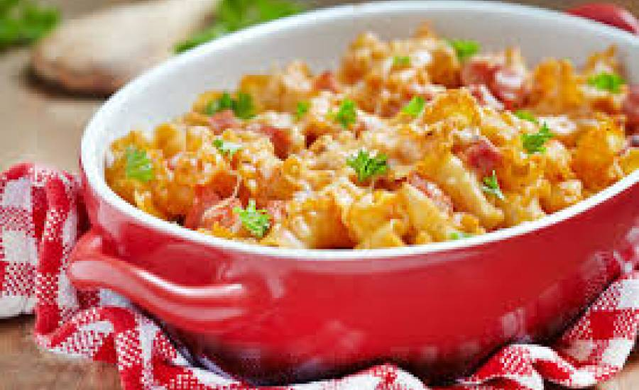 TounsiaNet : Gratin de macaroni à la bolognaise