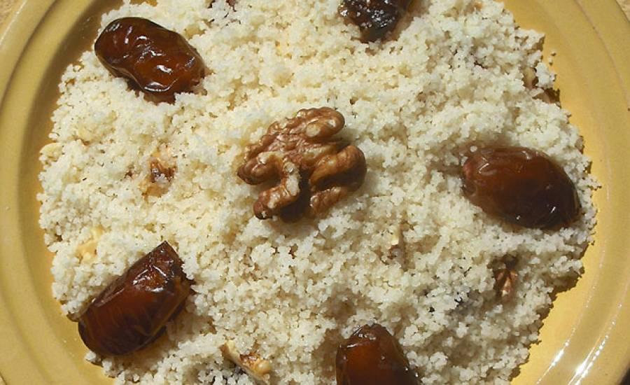 TounsiaNet : Couscous sucré/ Mesfouf aux dattes