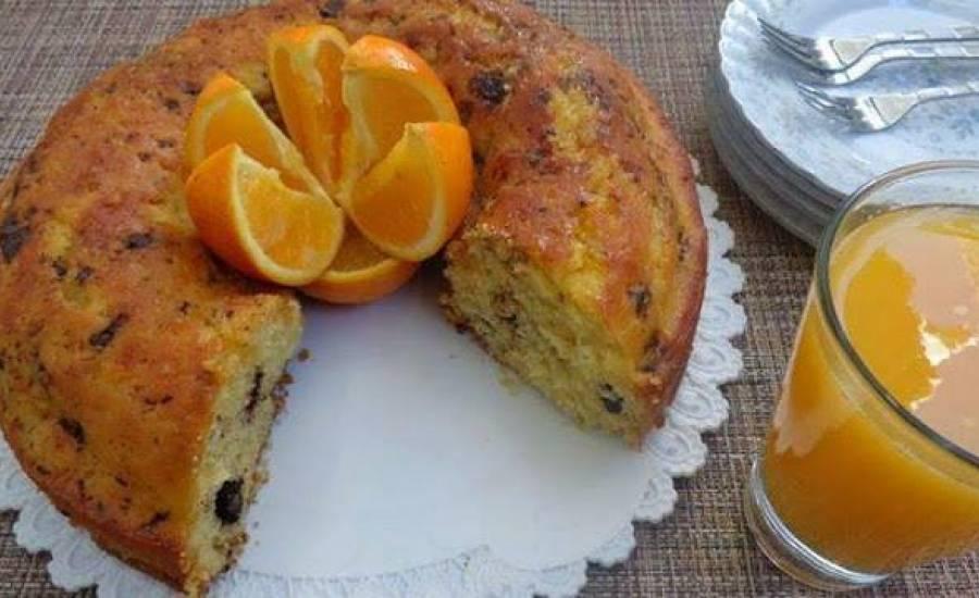 TounsiaNet : gâteau à l'orange