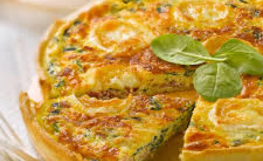 TounsiaNet : tarte aux épinards et à la ricotta