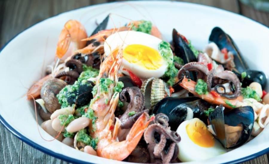 TounsiaNet : Salade de fruits de mer