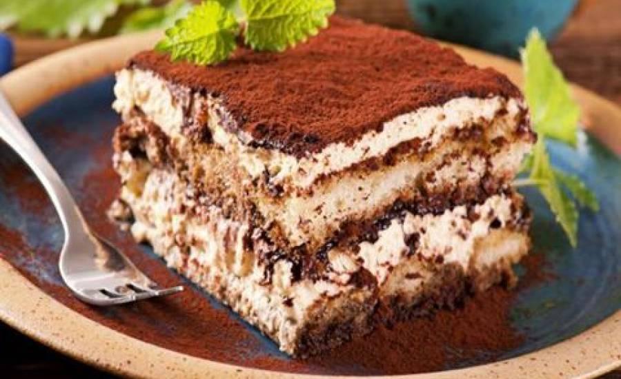 TounsiaNet : Tiramisu au lait chocolaté