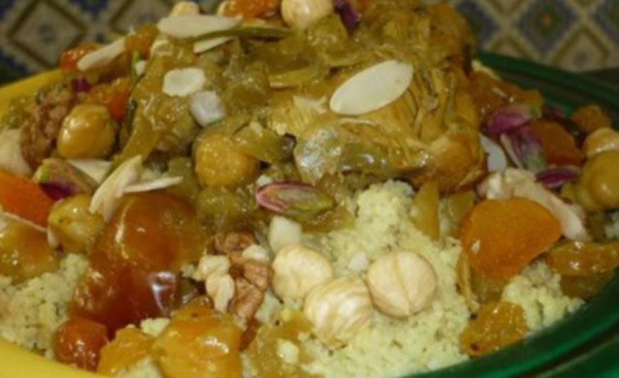 TounsiaNet : Couscous Bourzguen (une spécialité des kefiennes)