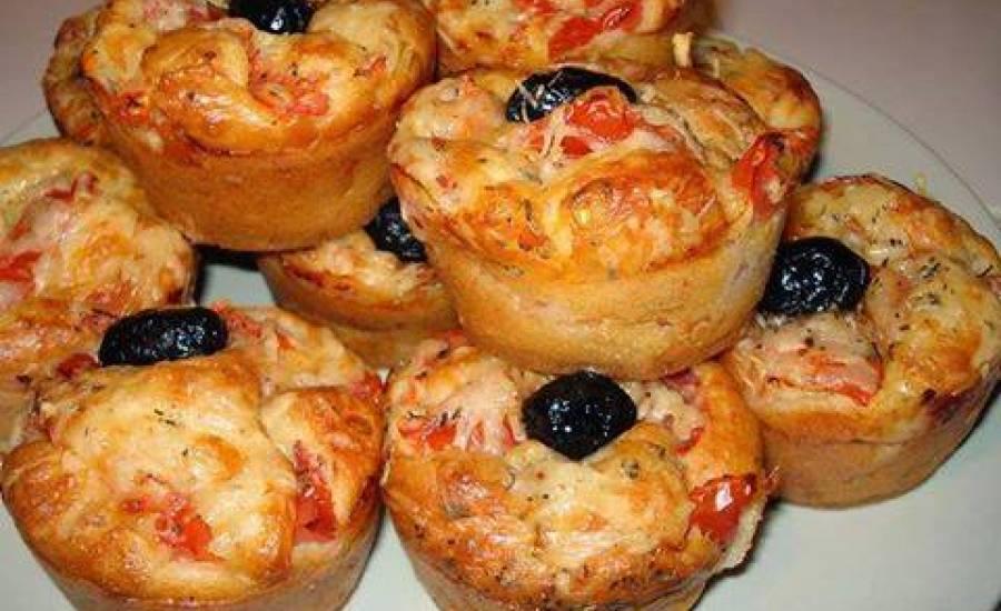 TounsiaNet : Muffins façon pizza