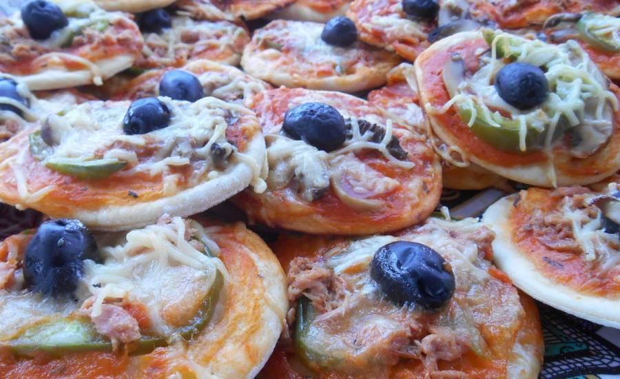 TounsiaNet : Mini Pizza au thon pour les enfants