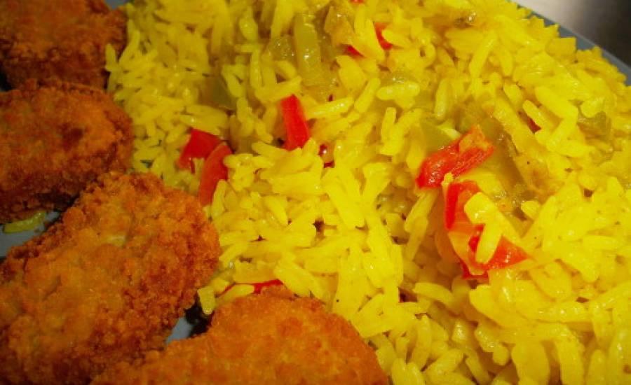 """TounsiaNet : riz à l'escalope et les champignons """"rouz az3er"""""""