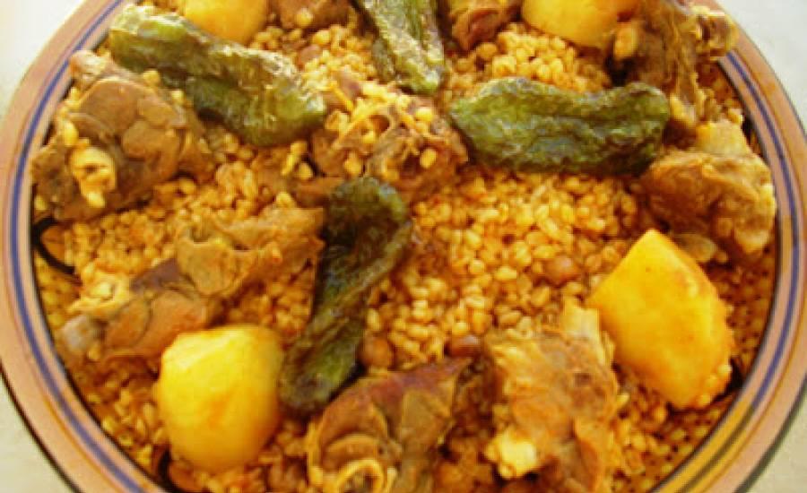 TounsiaNet : borghol à la viande