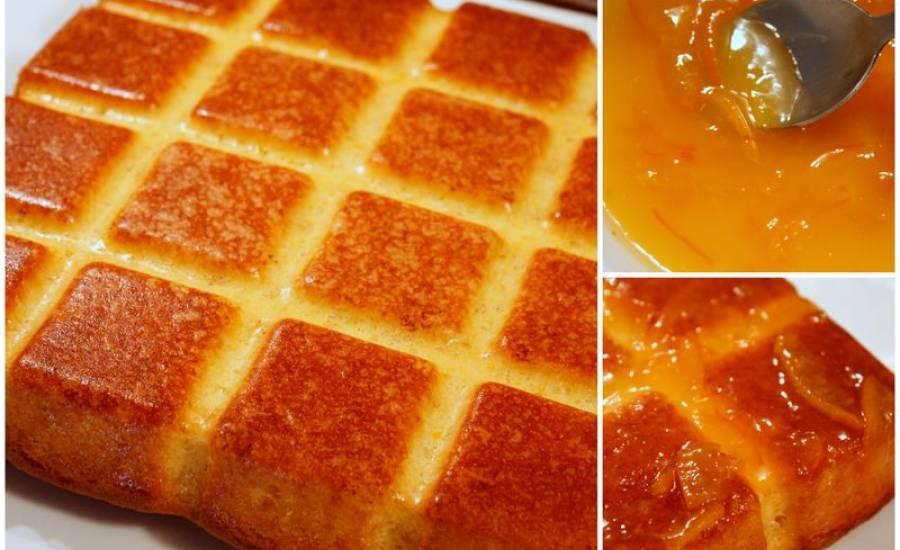 """TounsiaNet : Gâteau à l'orange """" khobzet borgden"""""""