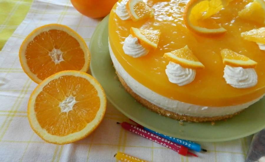 TounsiaNet : Gâteau orange spécial