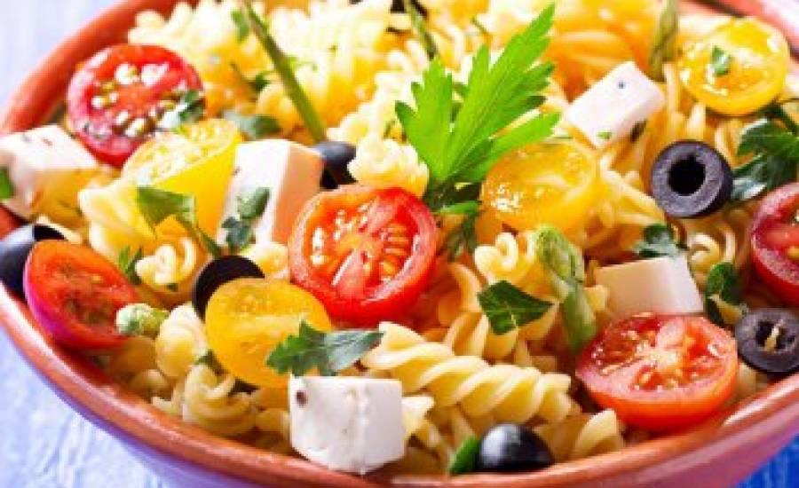 TounsiaNet : Salade de pâtes aux tomates cerises