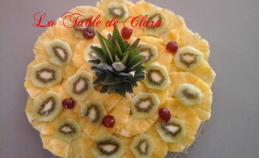 TounsiaNet : Carpaccio d'ananas