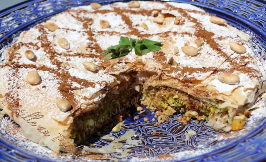 TounsiaNet : Pastilla au poulet