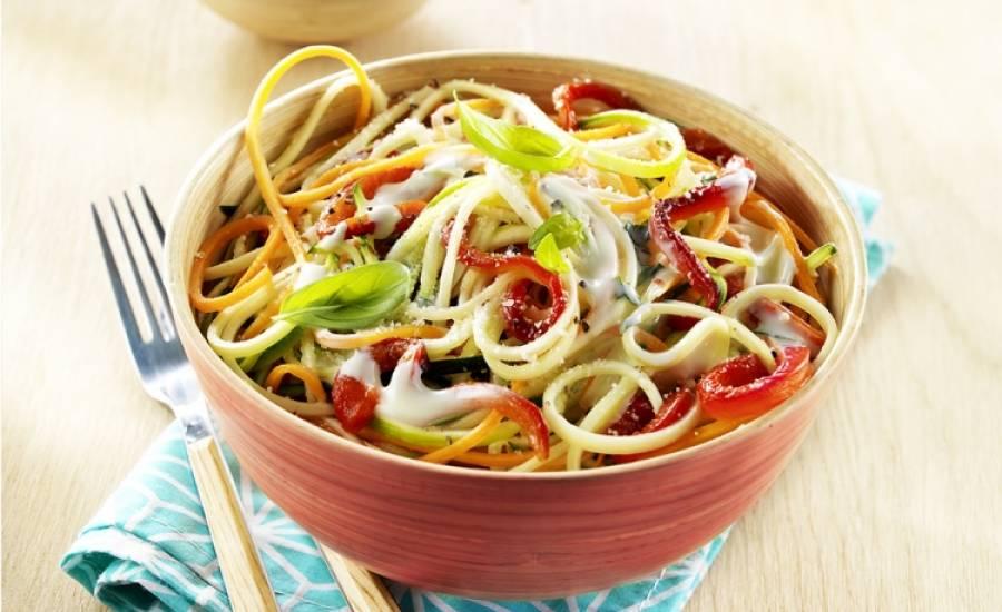 TounsiaNet : Spaghettis aux légumes