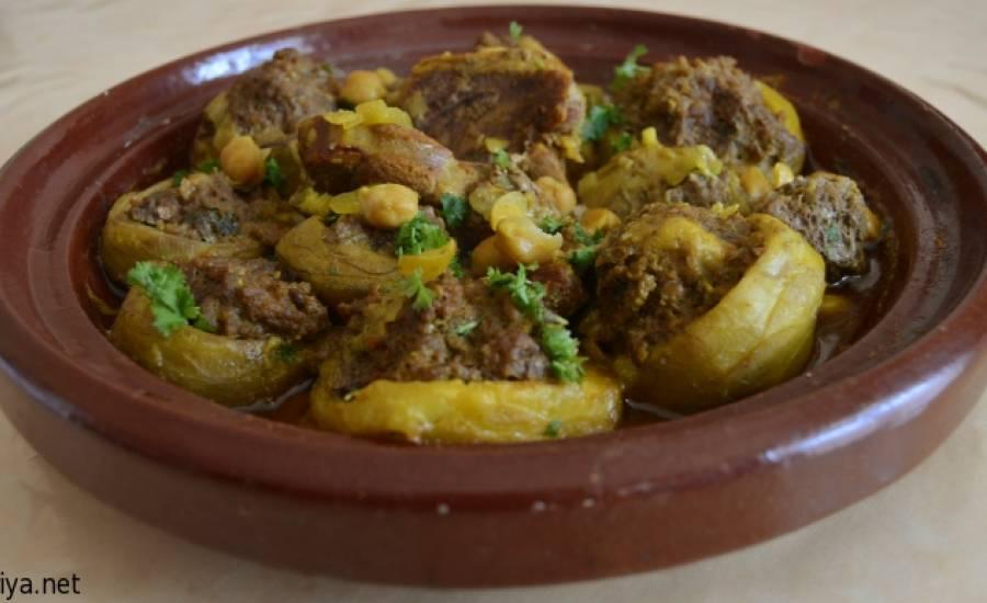 TounsiaNet : Tajine d'artichauts farcis à la viande
