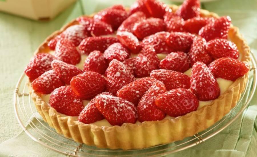 TounsiaNet : Tarte au fraise