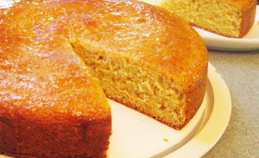 TounsiaNet : Gâteau au yaourt à l'orange, sans œufs