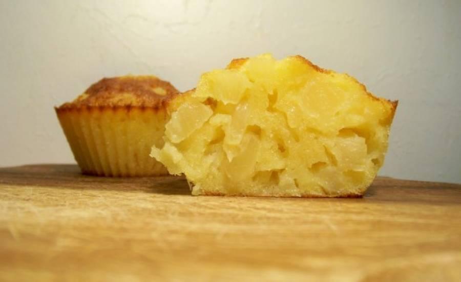 TounsiaNet : Muffins à l'ananas