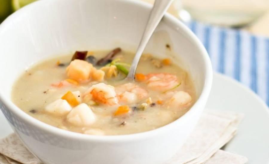 TounsiaNet : Soupe aux fruit de mer