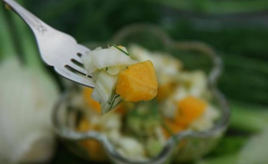 TounsiaNet : Salade de fenouil a l'orange