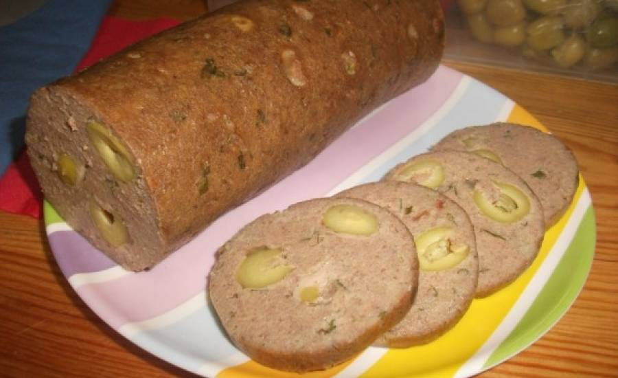 TounsiaNet : Salami de dinde fait maison