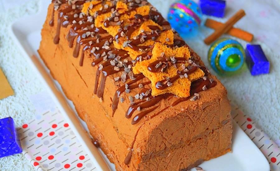 TounsiaNet : Bûche au chocolat et pain d'épices