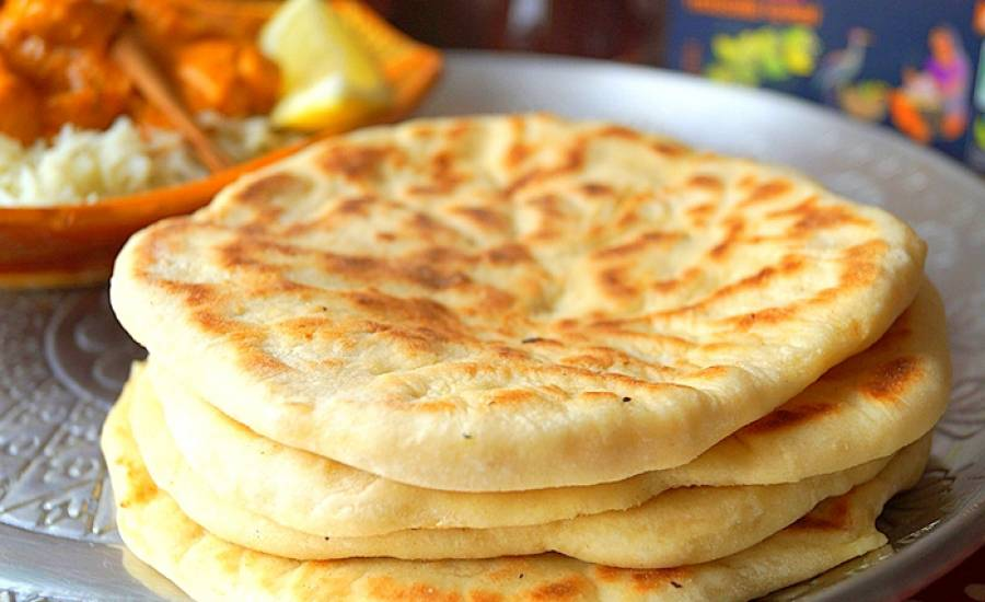 TounsiaNet : Cheese naan (pain indien au fromage)