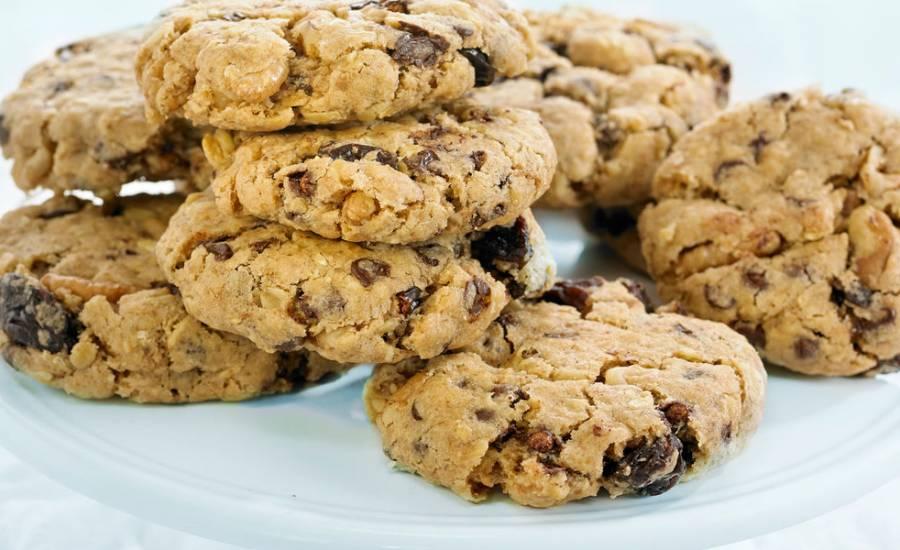 TounsiaNet : Biscuits aux raisins secs