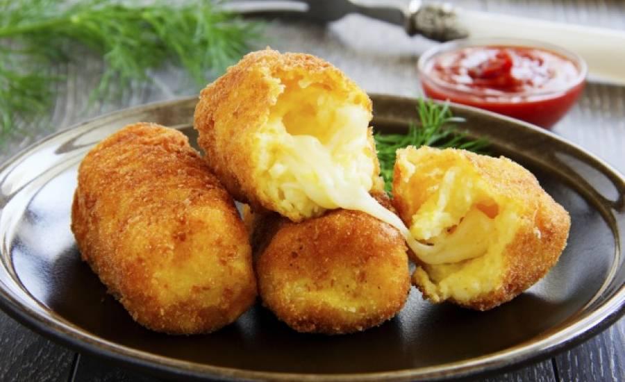 TounsiaNet : Croquette de Mozzarella