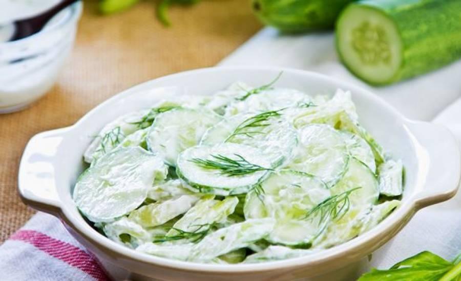 TounsiaNet : Salade de concombre au yaourt