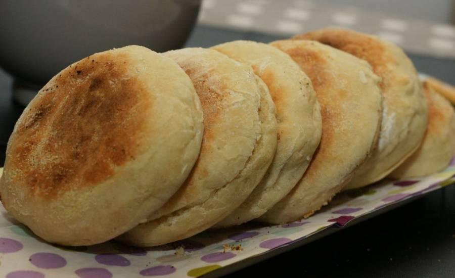 TounsiaNet : Muffins anglais (Pain anglais)