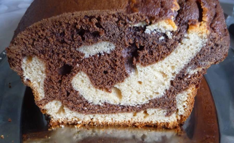 TounsiaNet : Gâteau marbré au cacahuète et au chocolat