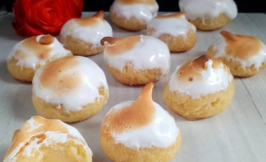 TounsiaNet : Petits choux au citron meringué