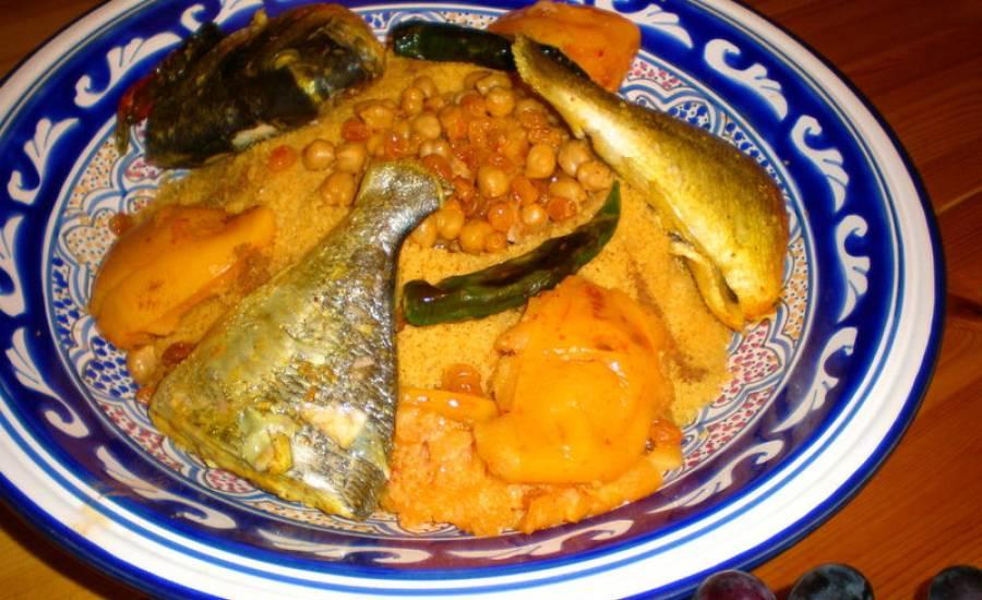 TounsiaNet : Couscous au poisson (bel manani)