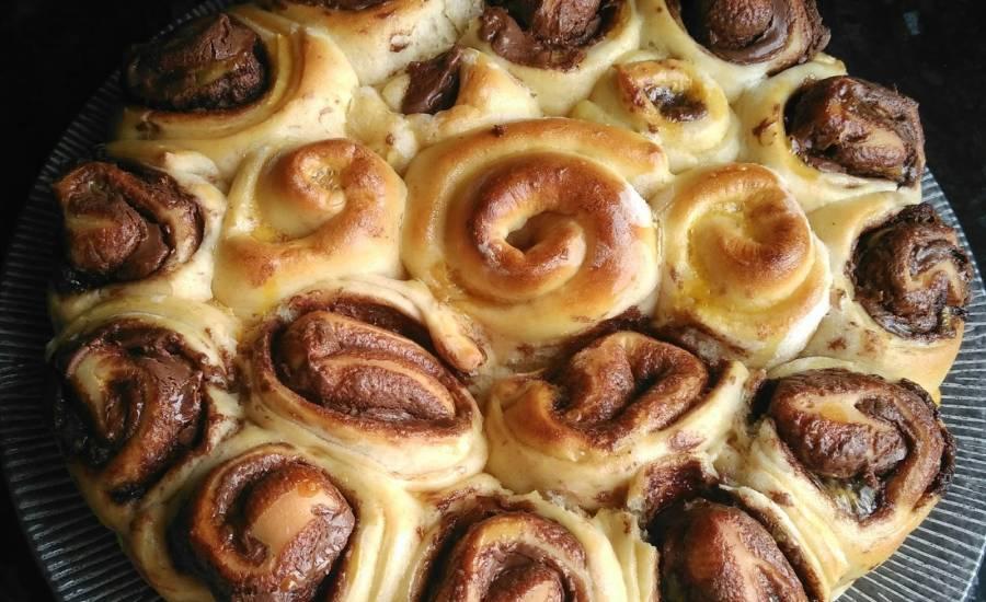 TounsiaNet : Pain au lait pâte à tartiner