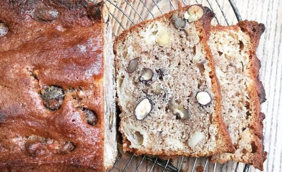 TounsiaNet : Cake d'automne aux fruits secs