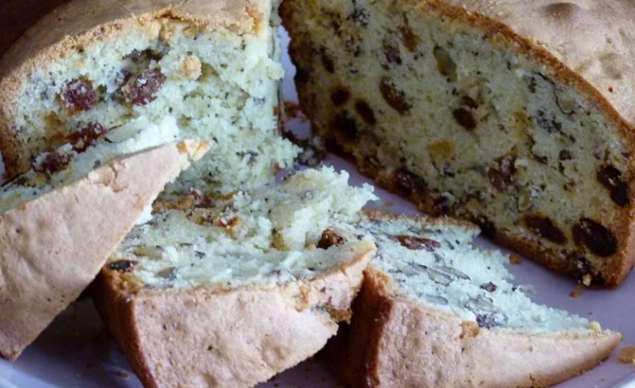 TounsiaNet : Gâteau aux raisins secs et noix