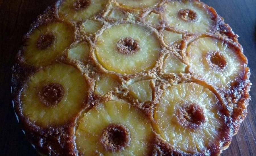 TounsiaNet : Gâteau renversé à l'ananas