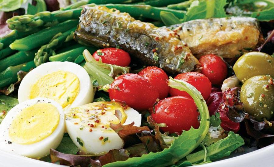 tounsia.Net : Salade de sardines