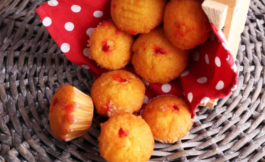 TounsiaNet : Muffins à la confiture de fraise