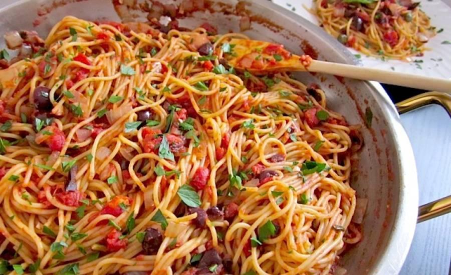 tounsia.Net : Spaghetti à la Puttanesca