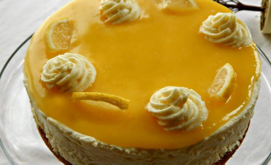 TounsiaNet : Gâteau mousse au citron