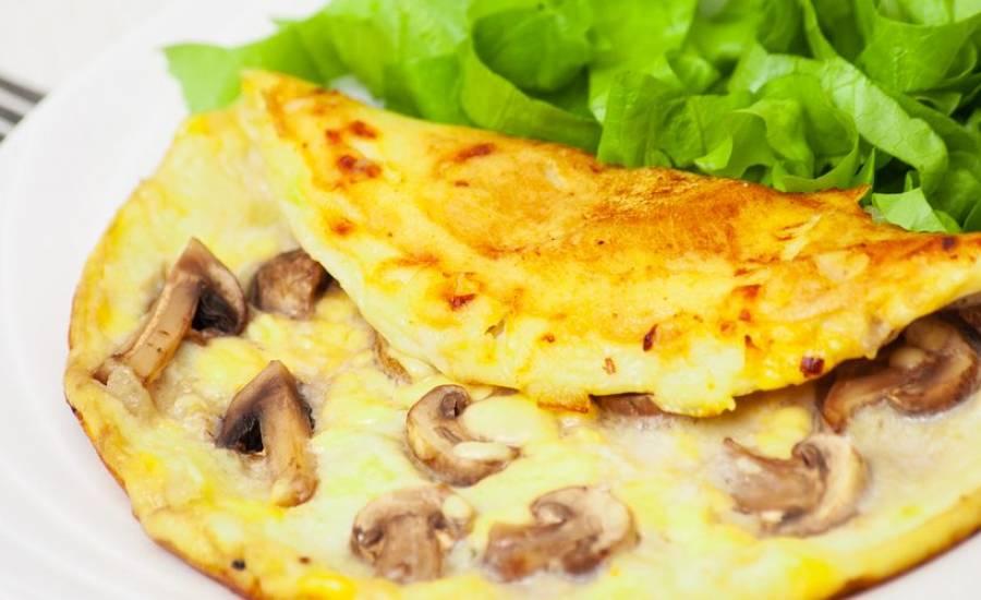 TounsiaNet : Omelette aux champignons